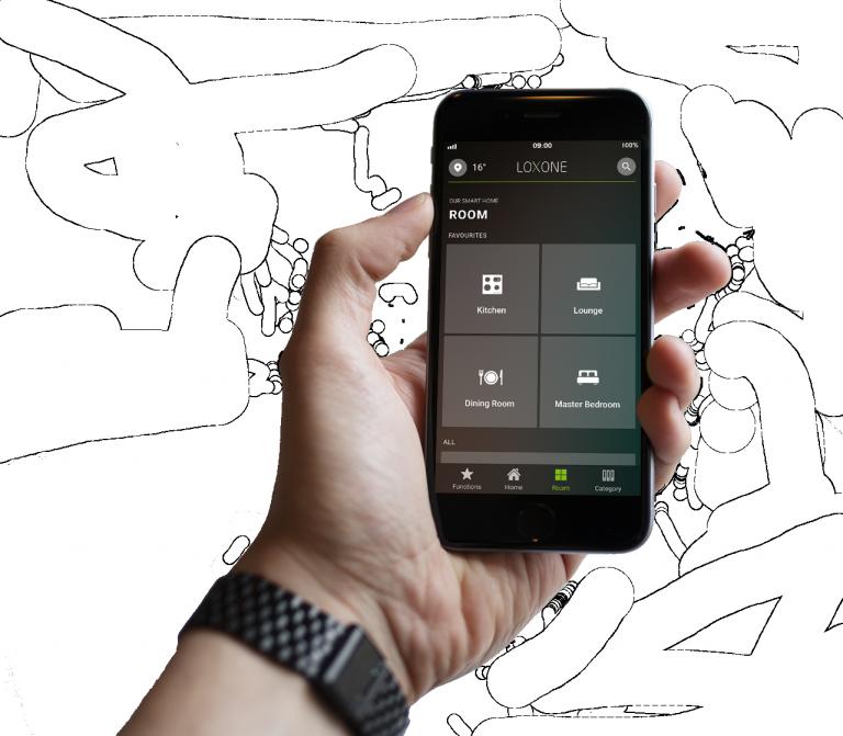 Loxonee Smart Home App - freigestellt