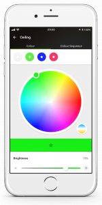 Loxone Smart Home App - Colour Picker