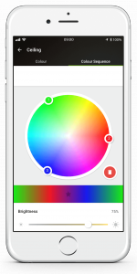 Loxone Smart Home App - Colour Sequence Picker