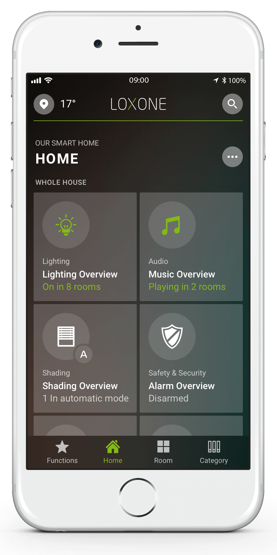 loxone smart home konfigurator alexa mach die planung. Black Bedroom Furniture Sets. Home Design Ideas